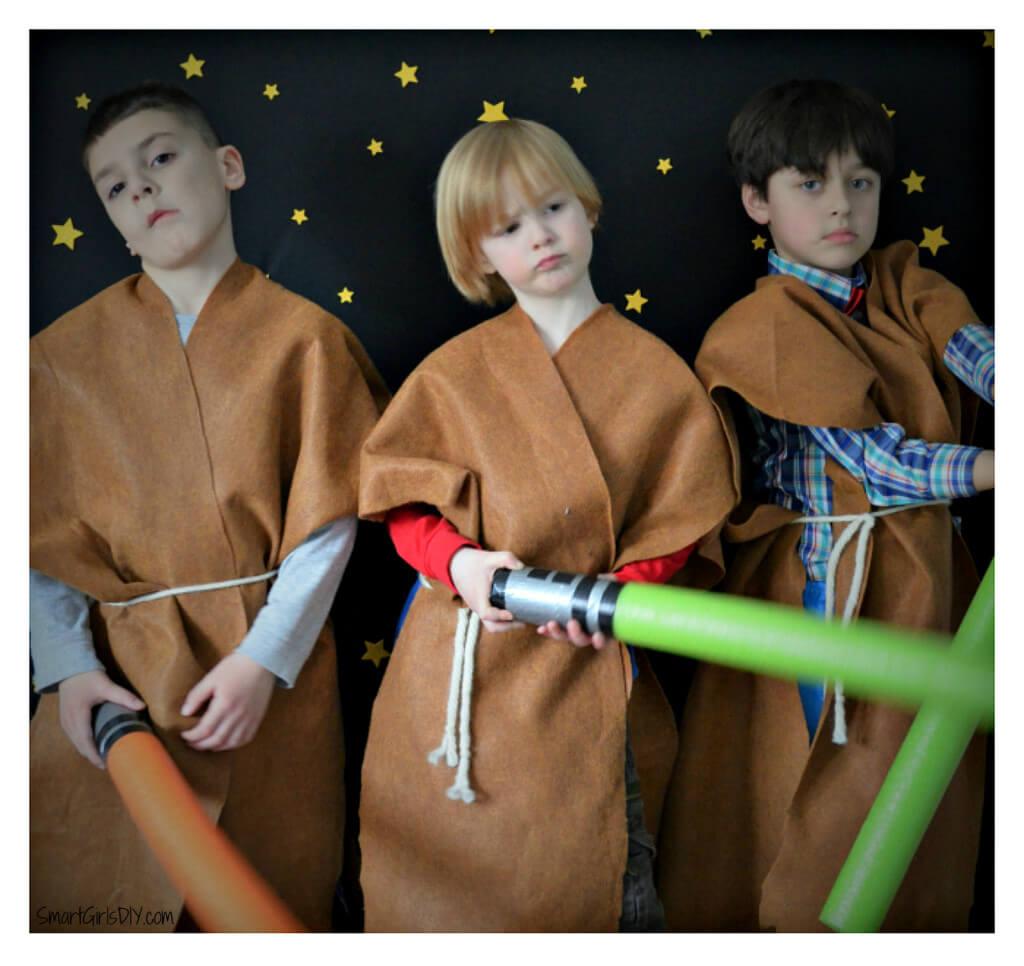 Star Wars photo booth fun