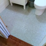 Guest Bathroom 7: DIY Hex Tile Floor