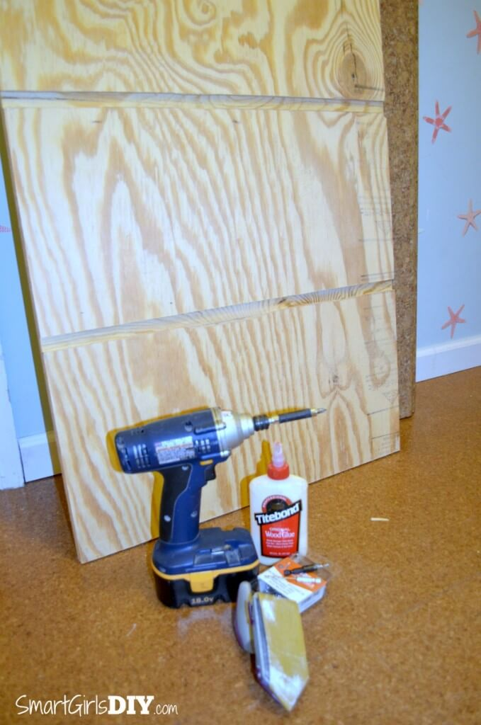 Dado joints to attach shelves for laundry basket shelf