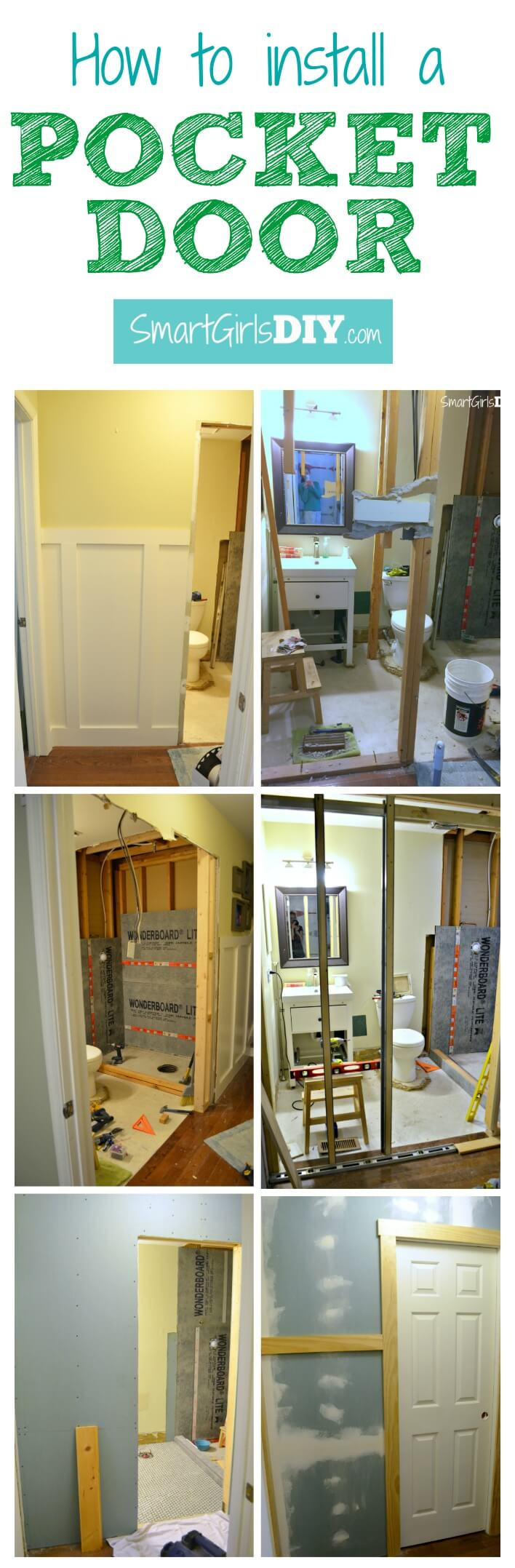 Building A Pocket Door : How to install a pocket door johnson hardware series