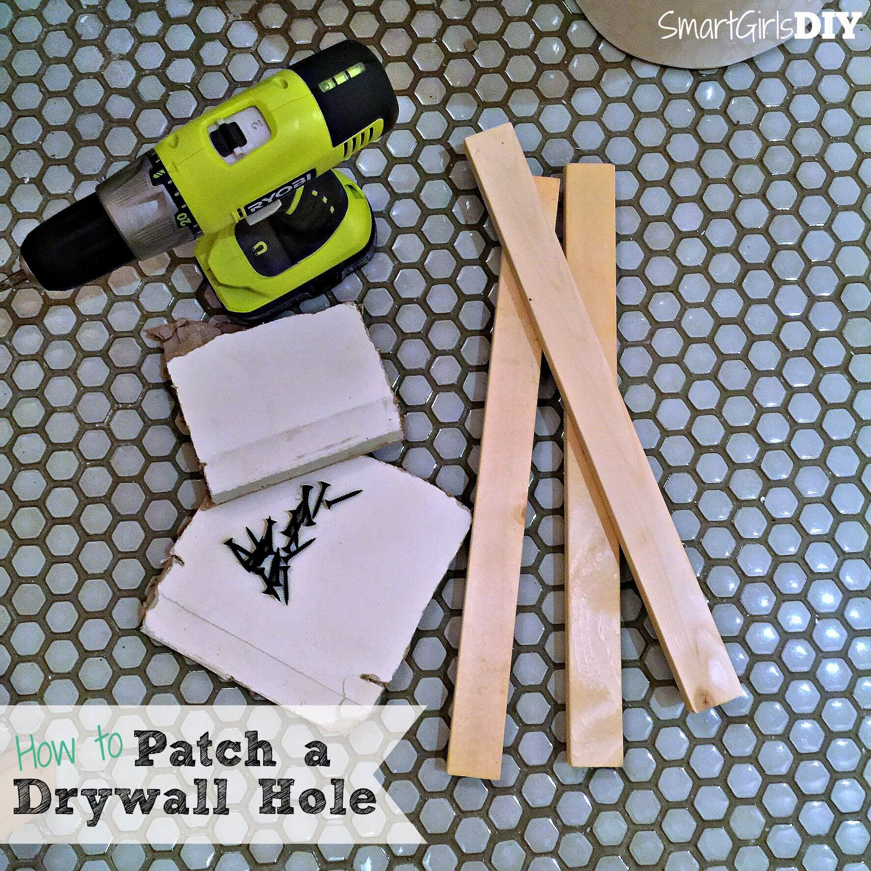 How to Patch a Drywall Hole – Quick Tip Tuesday
