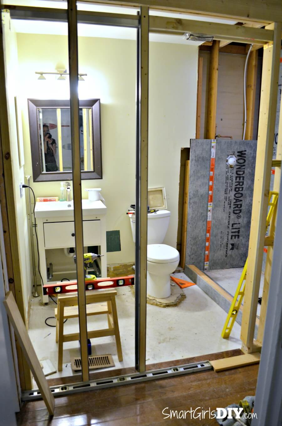 Guest Bathroom 6: How to Install a Pocket Door (Johnson Hardware 1510 Series)
