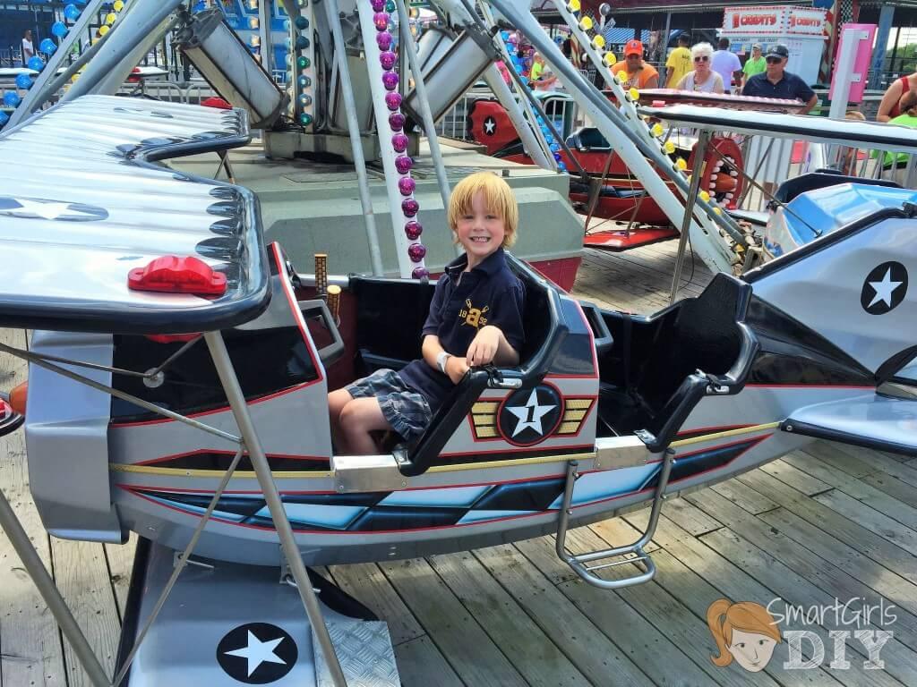 Jenkinson's boardwalk rides