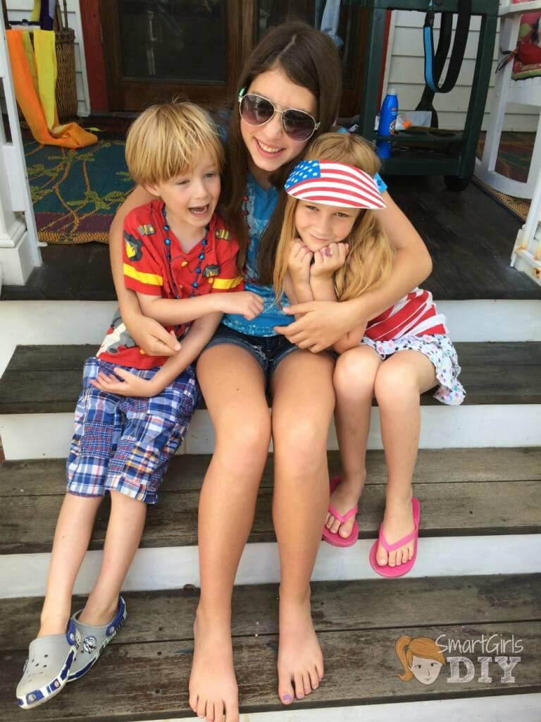 My babies on 4th of July