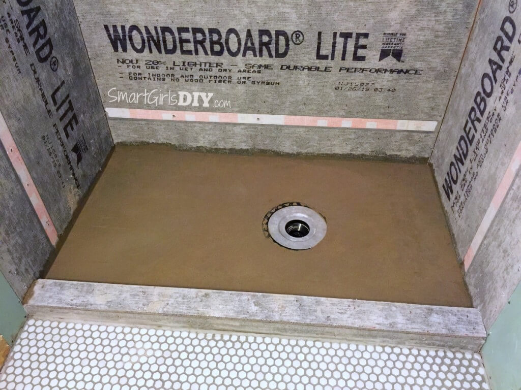 Youtube how to make a shower pan -  Finished My Diy Deck Mud Shower Pan With A Perfect Slope