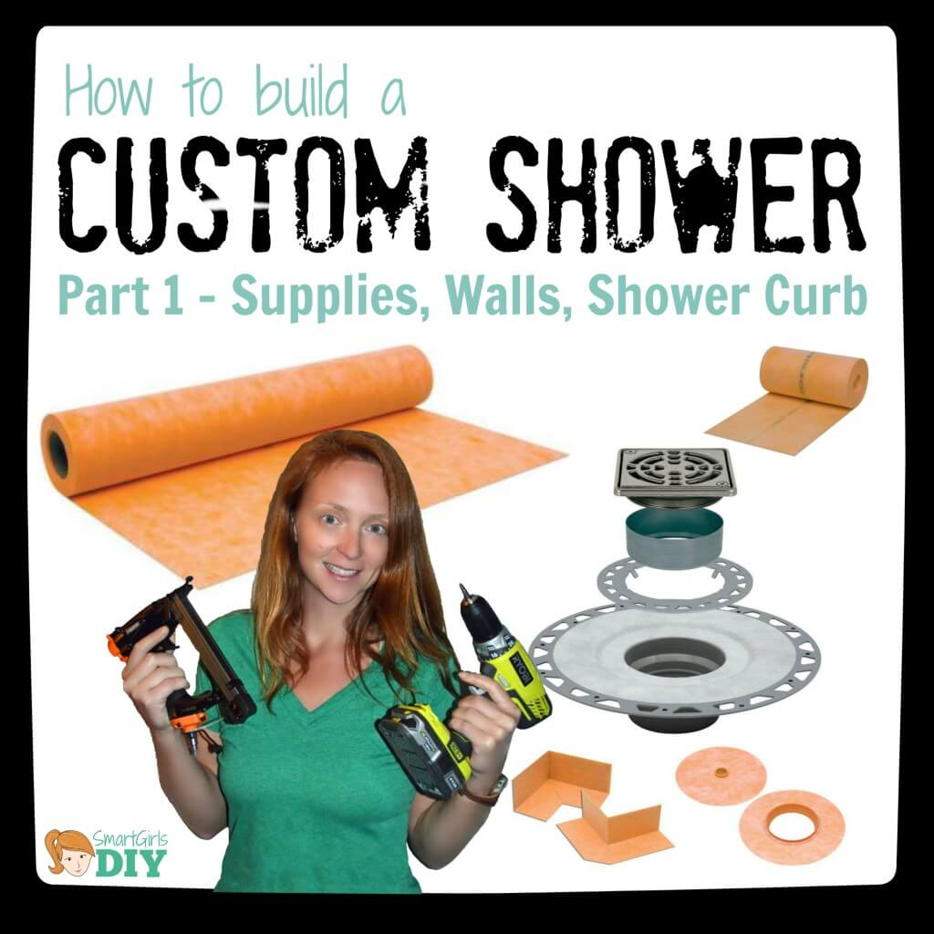 How to build a cutsom shower - part 1