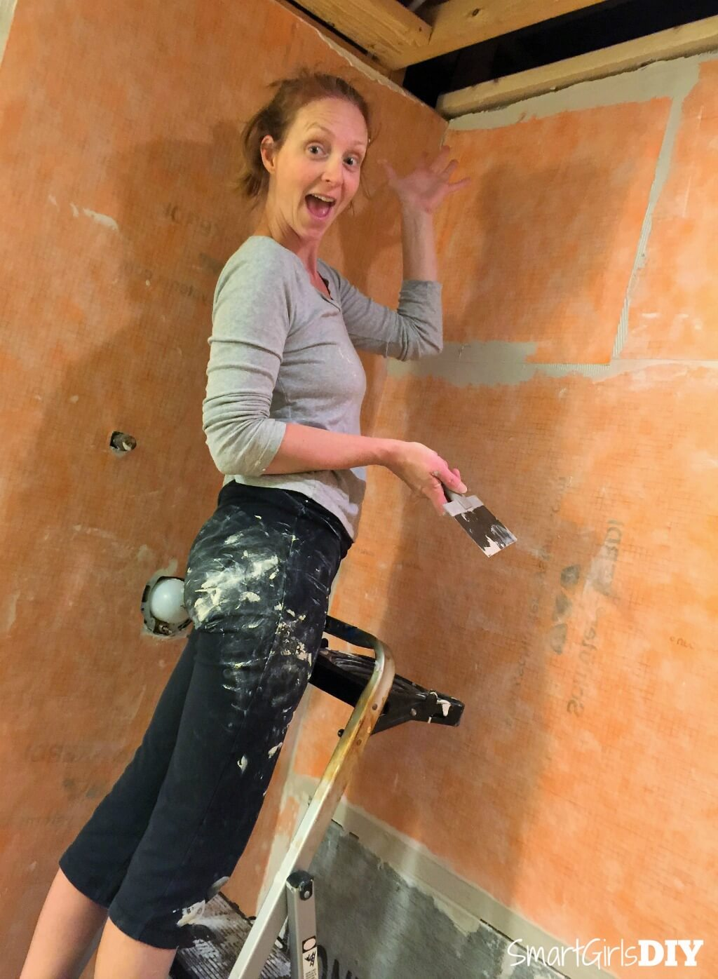 How to build your own shower with Smart Girls DIY