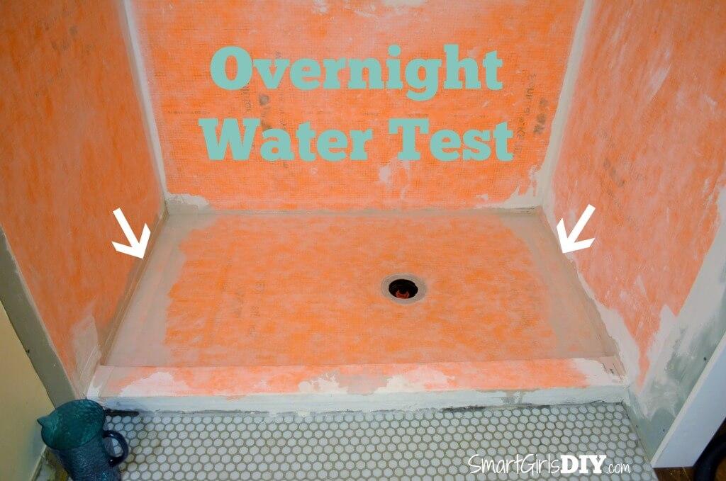 Overnight water test