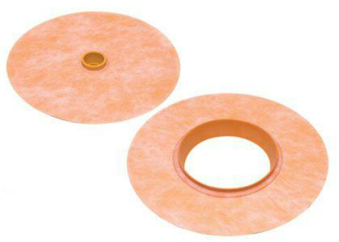 Schluter Kerdi pipe seal and mixing valve seal
