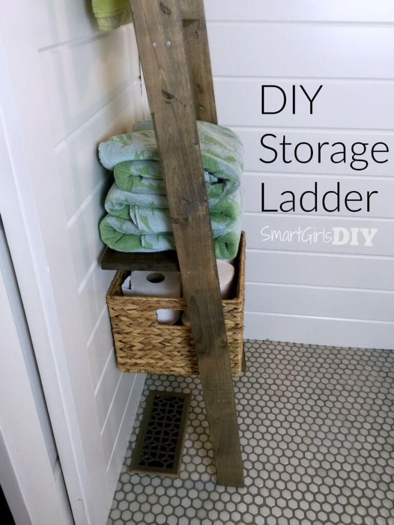 DIY Storage Ladder