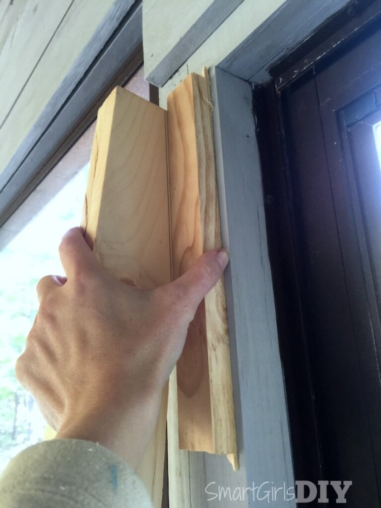 How to cut wood to fit flush against a wall