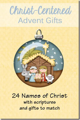 Christ-centered advent gifts for kids