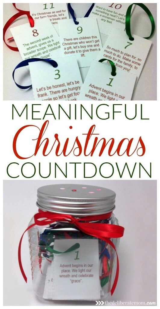 meaningful Christmas countdown