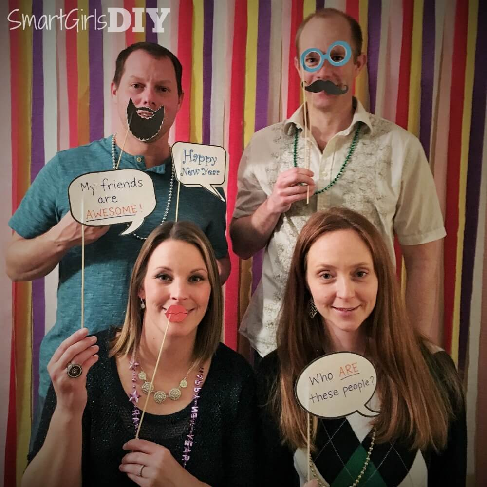 Photo Booth for New Years Eve Party