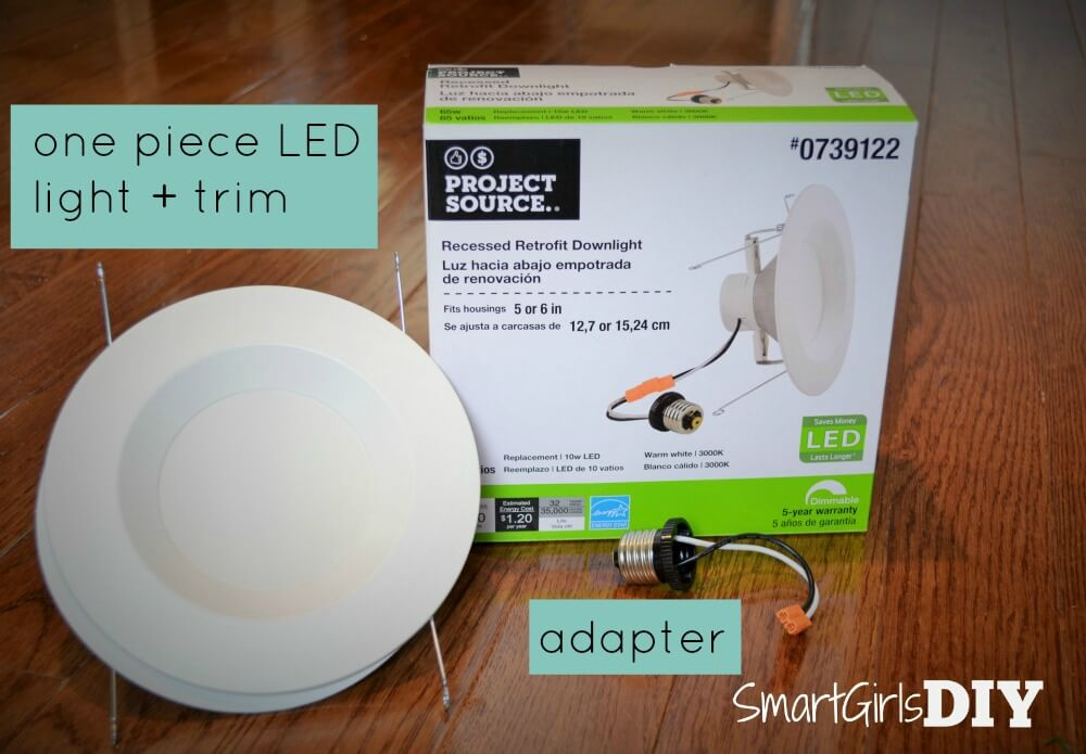 Upgrade your recessed lighting to LED