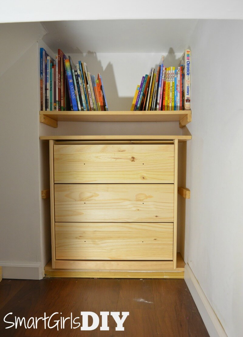 IKEA RAST fits with room to spare