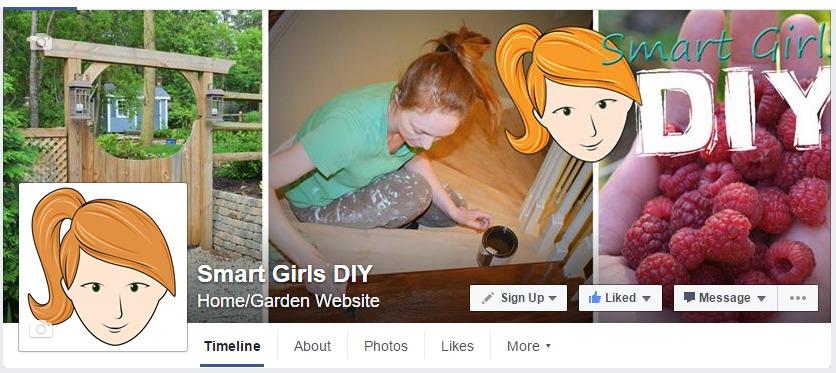 Outdated Facebook header
