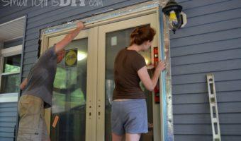 Installing Pella French-Door-Style Patio Doors