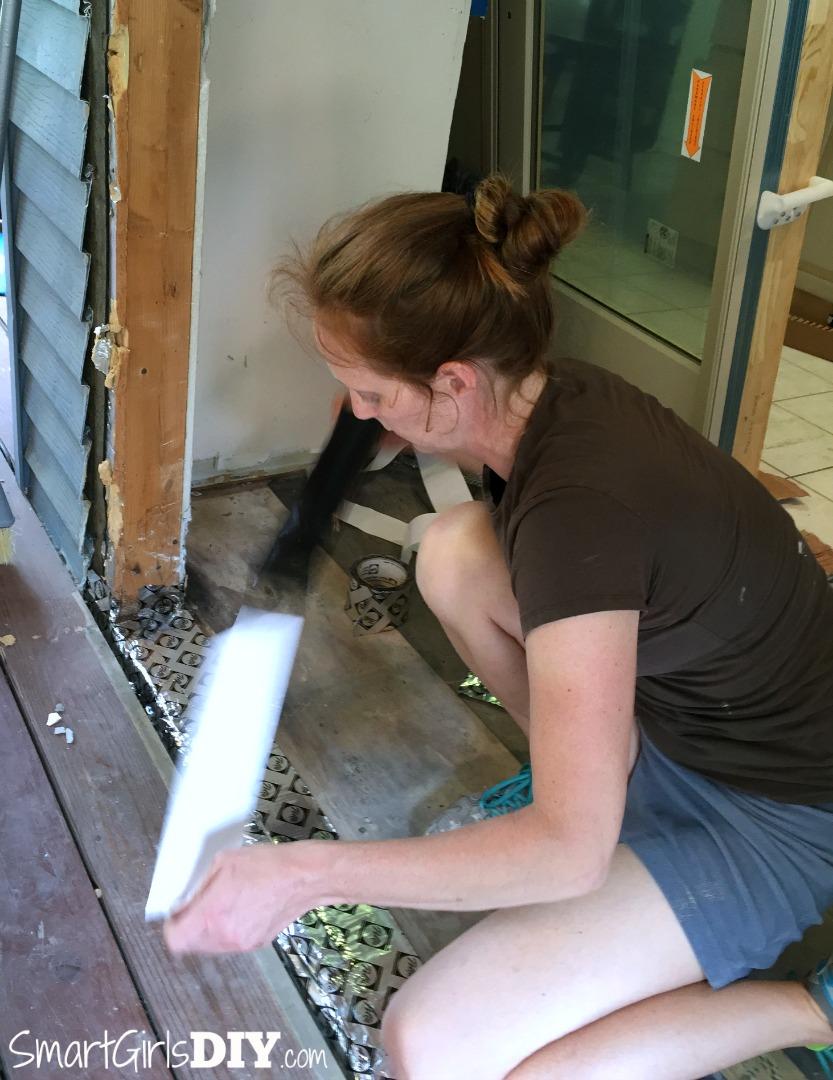 Do it yourself Pella patio door install