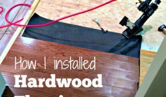 Installing Kitchen Flooring