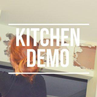 Kitchen Demo – Round 1