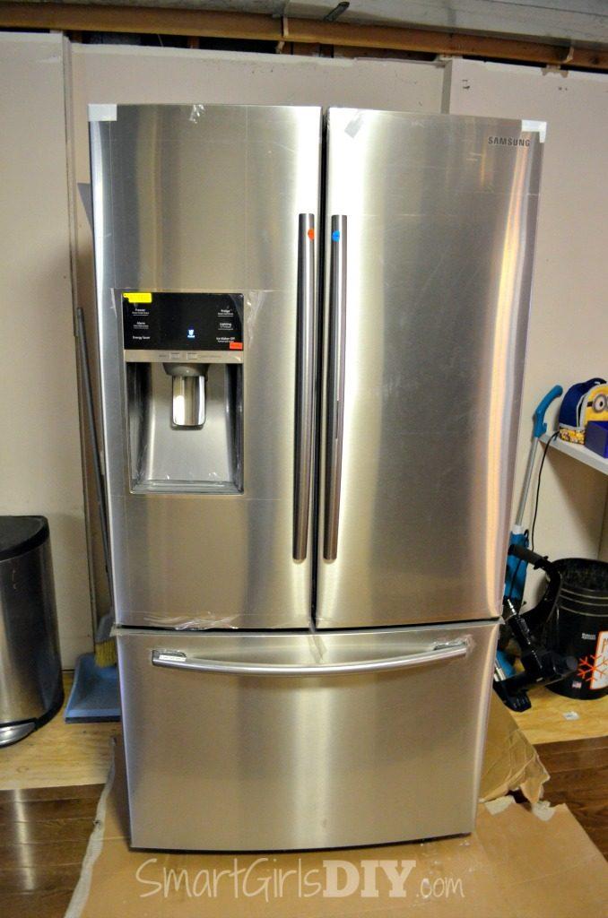 New Samsung Refrigerator with fancy door