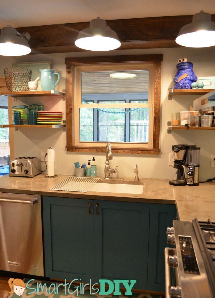 Smart Girls DIY kitchen makeover