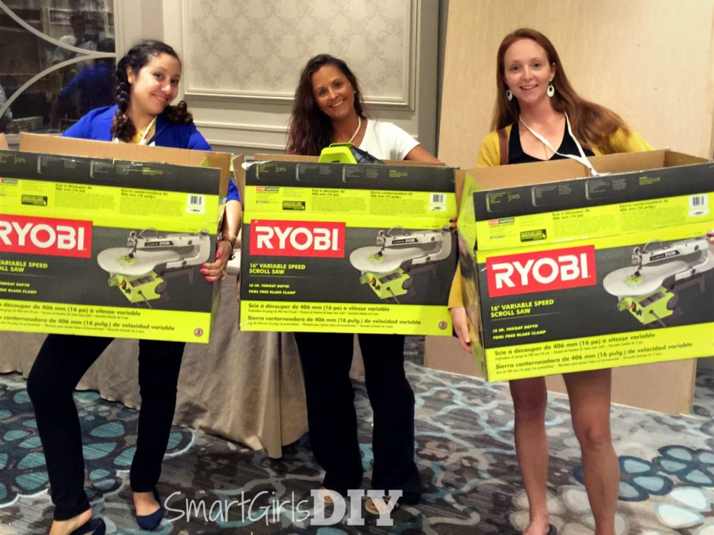 Thanks RYOBI for the new scroll saws