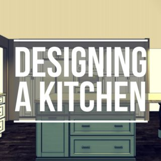 Designing My Kitchen Layout and Selecting Cabinets