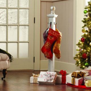 DIY Workshop: Build a Holiday Stocking Holder