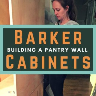 How to Build a Pantry Wall with Barker Cabinets