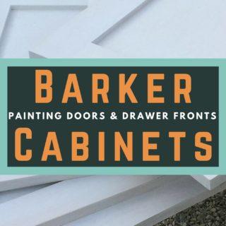 Painting Barker Cabinet Doors